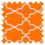 Moroccan Lattice Orange DC5702-Oran-D from Michael Miller
