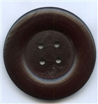 Brown Wooden Buttons GB1001 The Button Company
