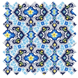 Garden Charm SG5682-Blue-D from Michael Miller