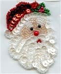 Sequined Applique St. Nick SM984S from Expo International