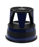 Kik-Step Midnight Blue Rolling Step Stool