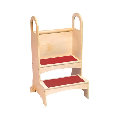 step stool with handrail for kids. Black Bedroom Furniture Sets. Home Design Ideas