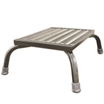 Safety Step MRI Aluminum  Commercial, Medical, Safety Step Stool