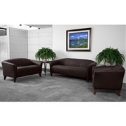 HERCULES Imperial Series Reception Set in Brown [111-SET-BN-GG]