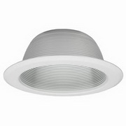 "Sea Gull Lighting Recessed 6"" Aluminum Baffle Trim"