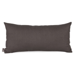 Howard Elliott Sterling Charcoal Kidney Pillow