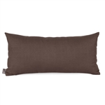 Howard Elliott Sterling Chocolate Kidney Pillow