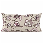 Howard Elliott Avignon Eggplant Kidney Pillow
