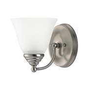 Sea Gull Lighting Albany 1-Light Wall Bath 44575