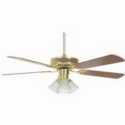 "Concord Fans Home Air 5 Blades 52"" Fan with 3 Light Kit"
