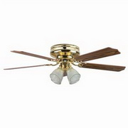 "Concord Fans 5 Blades 52"" Montego Bay Deluxe Ceiling Fan"
