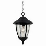 Sea Gull Lighting Lambert Hill 1-Light Outdoor Pendant Fixture 60068
