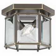 Bretton 2-Light Bound Glass Ceiling Light