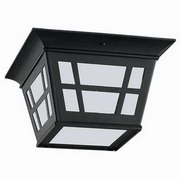 Herrington Energy Star 1-Light Outdoor Ceiling Flush Mount