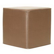 Howard Elliott Avanti Bronze No Tip Block Ottoman