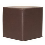 Howard Elliott Avanti Pecan No Tip Block Ottoman