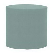 Howard Elliott Sterling Breeze No Tip Cylinder Ottoman