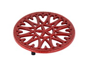 "Achla 7"" Sunburst - Cast Iron Trivet"