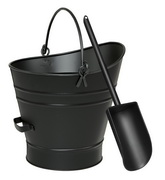 Achla Coal Hod / Pellet Bucket w/ Scoop