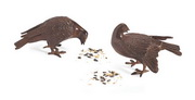 Achla Bronzed Doves Pair