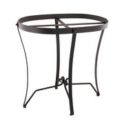 Achla Wrought Iron Stand: Round (for C-50 & C-70)