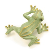 Achla Jumping Frog - Green