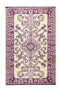 Achla Tracery 4 x 6 Floor Mat Violet