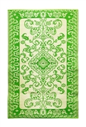 Achla Tracery 4 x 6 Floor Mat Lime