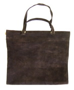 Achla Suede Log Carrier