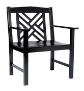 Achla Fretwork Arm Chair
