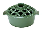 Achla 2.2 qt Enamel Steamer - Lattice Top
