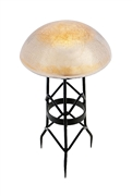 Achla Toad Stool - Apricot Ice - Crackle