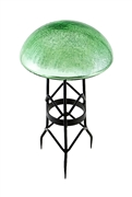 Achla Toad Stool - Light Green - Crackle
