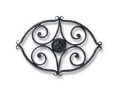 Achla Wrought Iron Trivet - Scroll