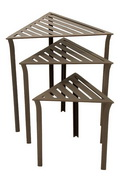 Achla Triangular Nesting Tables - Set of 3