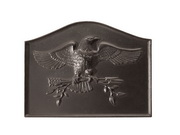 Achla Black American Eagle Fire back