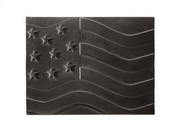 Achla Black American Flag Fire back