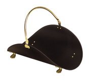 Achla Brass Plated and Black Basket