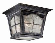 Vaxcel Arcadia 3 Light Outdoor Ceiling Light in Burnished Patina (AD-OFU110BP)