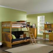 Atlantic Columbia Twin over Futon Bunk Bed [AB55404]