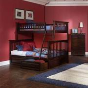 Atlantic Columbia Twin over Full Bunk Bed [AB55204]