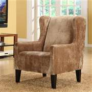 Armen Living Madera Brown Club Chair (LC7117FABR)
