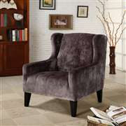 Armen Living Madera Gray Club Chair (LC7117FAGR)