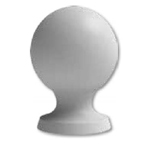 BA05-Decorative-Ball-5-Dia.-x-6-3/4-polyurethane-image-BA05