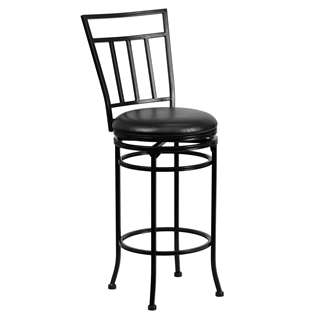 29'' Black Metal Bar Stool [BS-6228-29-BK-GG]