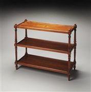 BUTLER 3-TIER CONSOLE TABLE