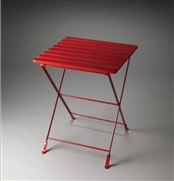 BUTLER FOLDING SIDE TABLE