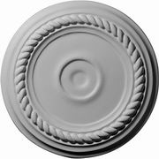 "Small-Alexandria-Ceiling-Medallion-Fits-Canopies-up-to-1-7/8""-CM07AL"