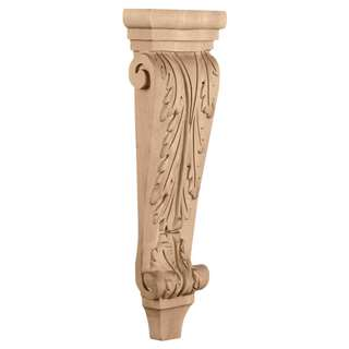 Medium-Acanthus-Pilaster-Wood-Corbel
