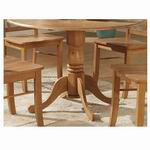 East West Dublin Table pedestal [DT-OAK-B]